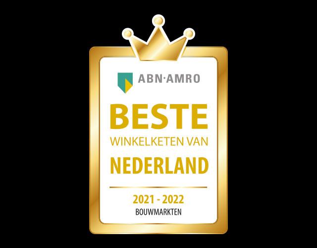 Beste winkelketen van Nederland 2021-2022 bouwmarkt