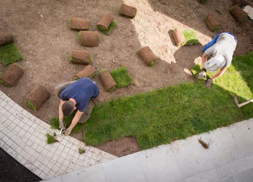 Zelf je graszoden leggen voor een strak gelegde grasmat