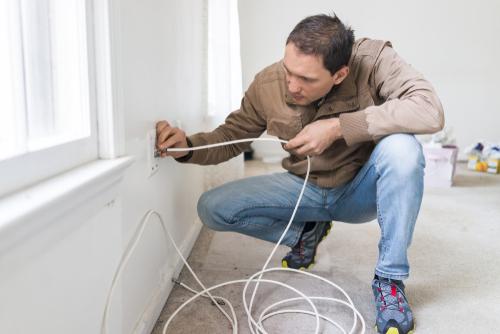 kabel trekken huis
