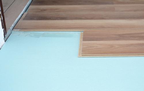 ondervloer leggen stappenplan