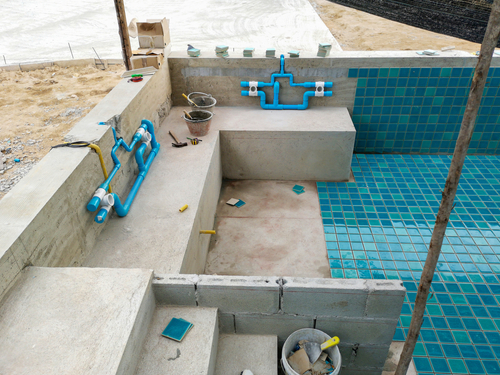 zwembad bouwen