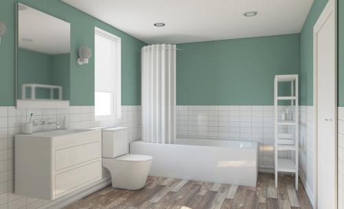 Badkamer schilderen: een fluitje van een cent