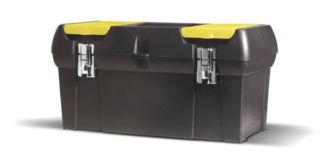 Gereedschapskoffer 31 cm zwart-geel