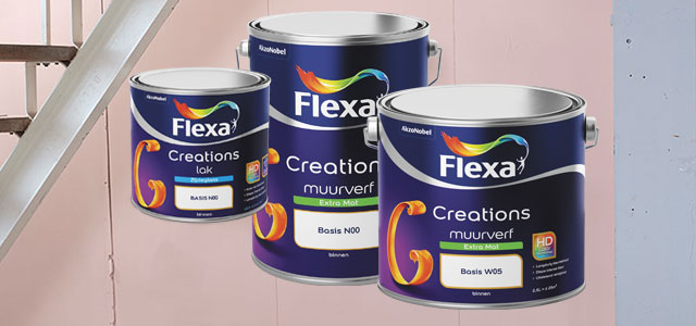 Flexa Creations lakken en muurverf