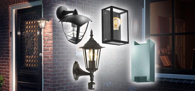 Philips en Eglo Buitenverlichting