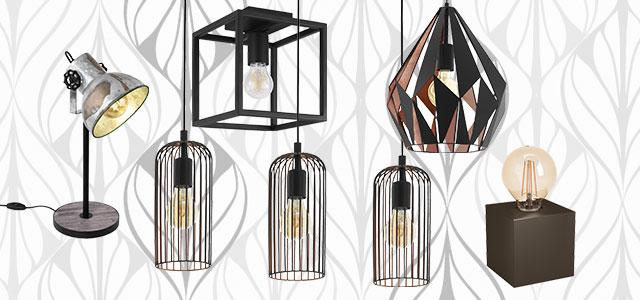 Eglo Hang- en tafellampen