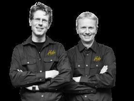 C. Smit en C. Steenbergen, Eigenaars Hubo Smit