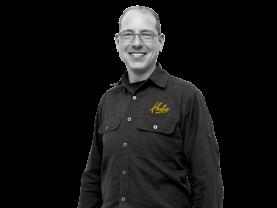 Alwin Dieters, Bedrijfsleider Hubo Vanderveen