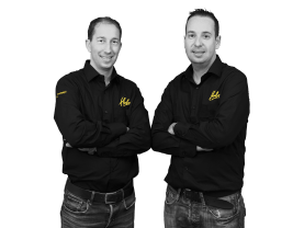Patrick en Maykel Zwanenburg, Eigenaars Hubo Bodegraven