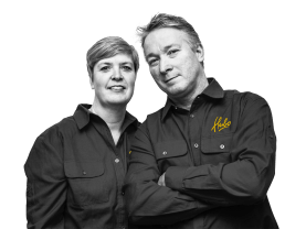 Ingrid en Hans van Hees, Eigenaars Hubo Breda