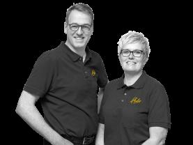 Anton en Karin Spikker, Eigenaars Hubo Wieskamp