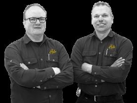 Wout-Jan en Mark Faber, Eigenaars Hubo Faber