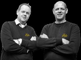 Henk en Theo van Dijk, Eigenaar Hubo van Dijk