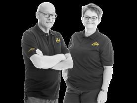 René Dane en Corine Schikker, Eigenaars Hubo Nieuwerkerk