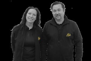 Jane en Sander, Ondernemers Hubo Oud-Beijerland