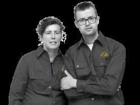 Marita en Bart van Deelen, Eigenaars Hubo Van Deelen