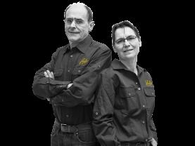 Martien en Elly Kuijpers, Eigenaars Hubo Kuijpers