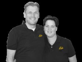 Marcel en Patricia Scheffer, Eigenaars Hubo Zelhem